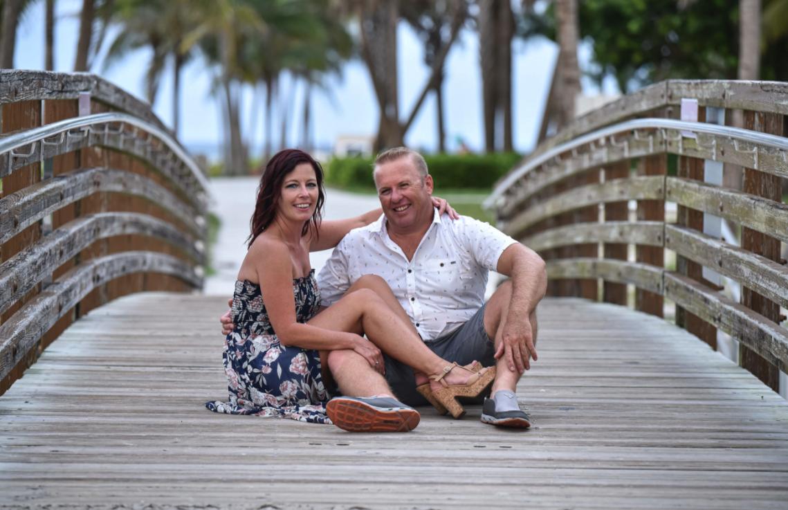 Ginger & Scott Engagement Session Video Teaser DuBois Park Jupiter FL